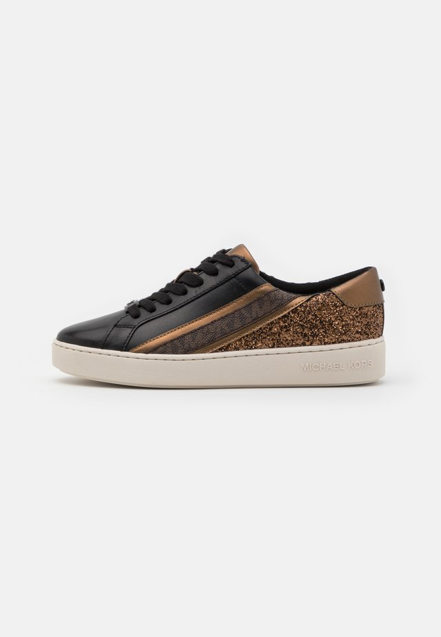 SLADE LACE UP - Trainers - black/bronze