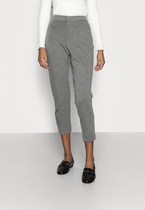 ONLPOPTRASH LIFE STRIKE PANT - Pantalon classique - medium grey melange