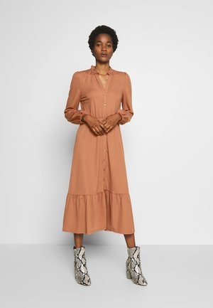 YASJUNE MIDI DRESS  - Jersey dress - bruschetta