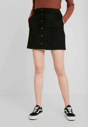 VMDONNARAY SHORT SKIRT - A-linjekjol - black