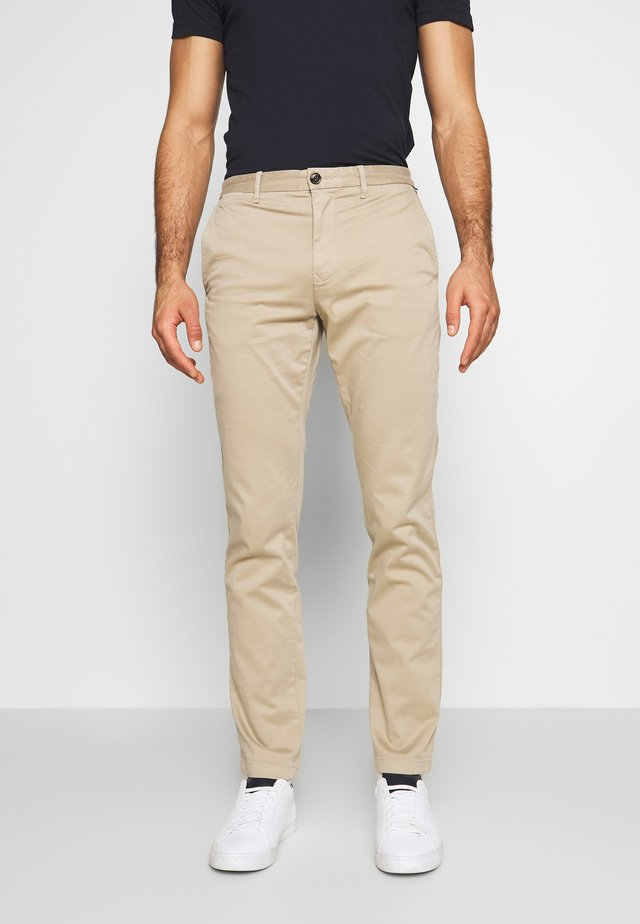 CORE STRAIGHT FLEX - Chino - khaki