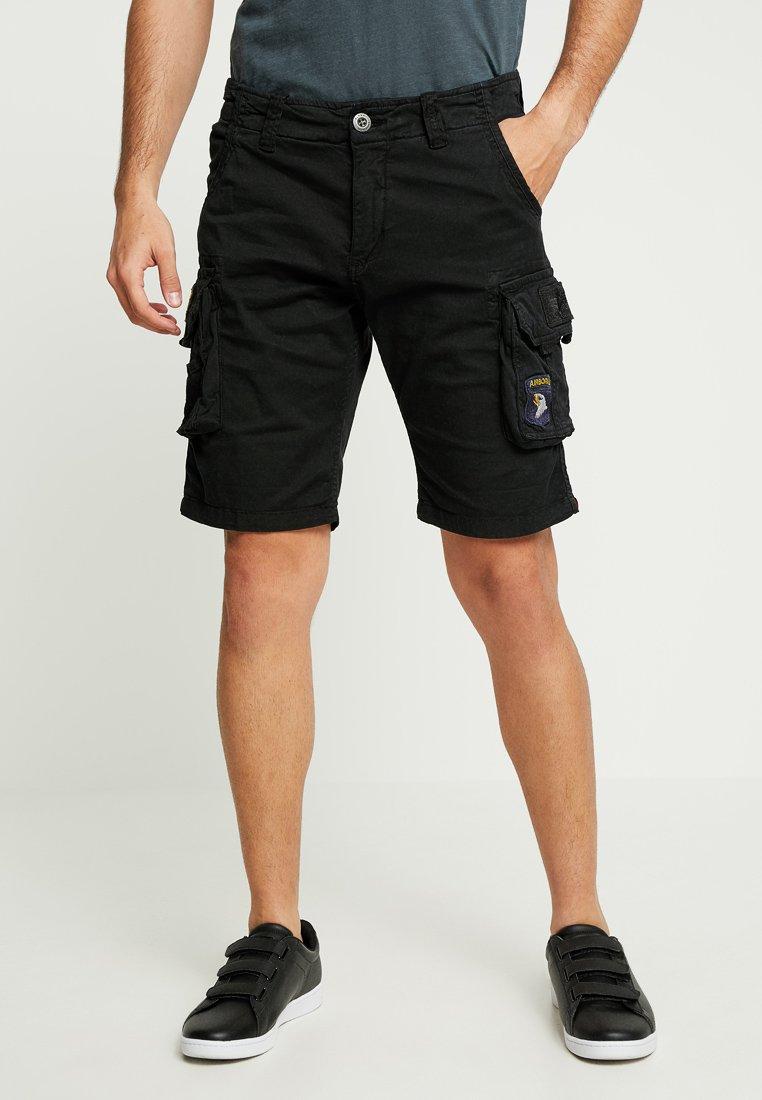 Alpha Industries - CREW PATCH  - Shorts - black