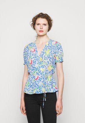 VINTAGE - Print T-shirt - blue