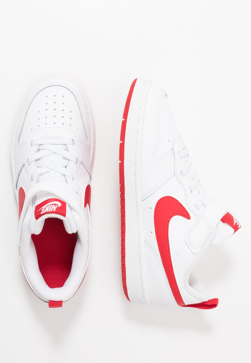 Nike Sportswear - COURT BOROUGH  - Trainers - white/university red