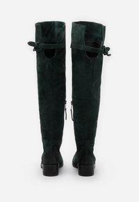 MJUS - Kozačky nad kolena - lichene - 3