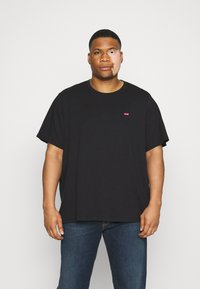 Levi's® Plus - BIG ORIGINAL - T-shirt - bas - mineral black - 0