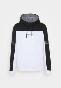 FULHAM - Hoodie - jet black / optic white