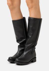 Mis Pepas - Vysoká obuv - black - 0