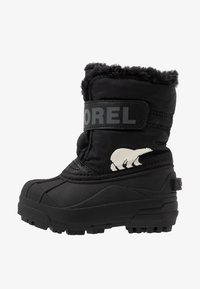 Sorel - CHILDRENS - Snowboots  - black/charcoal