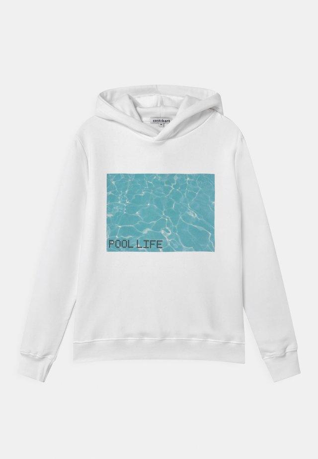 MAJA HOODIE - Sweatshirt - bright white