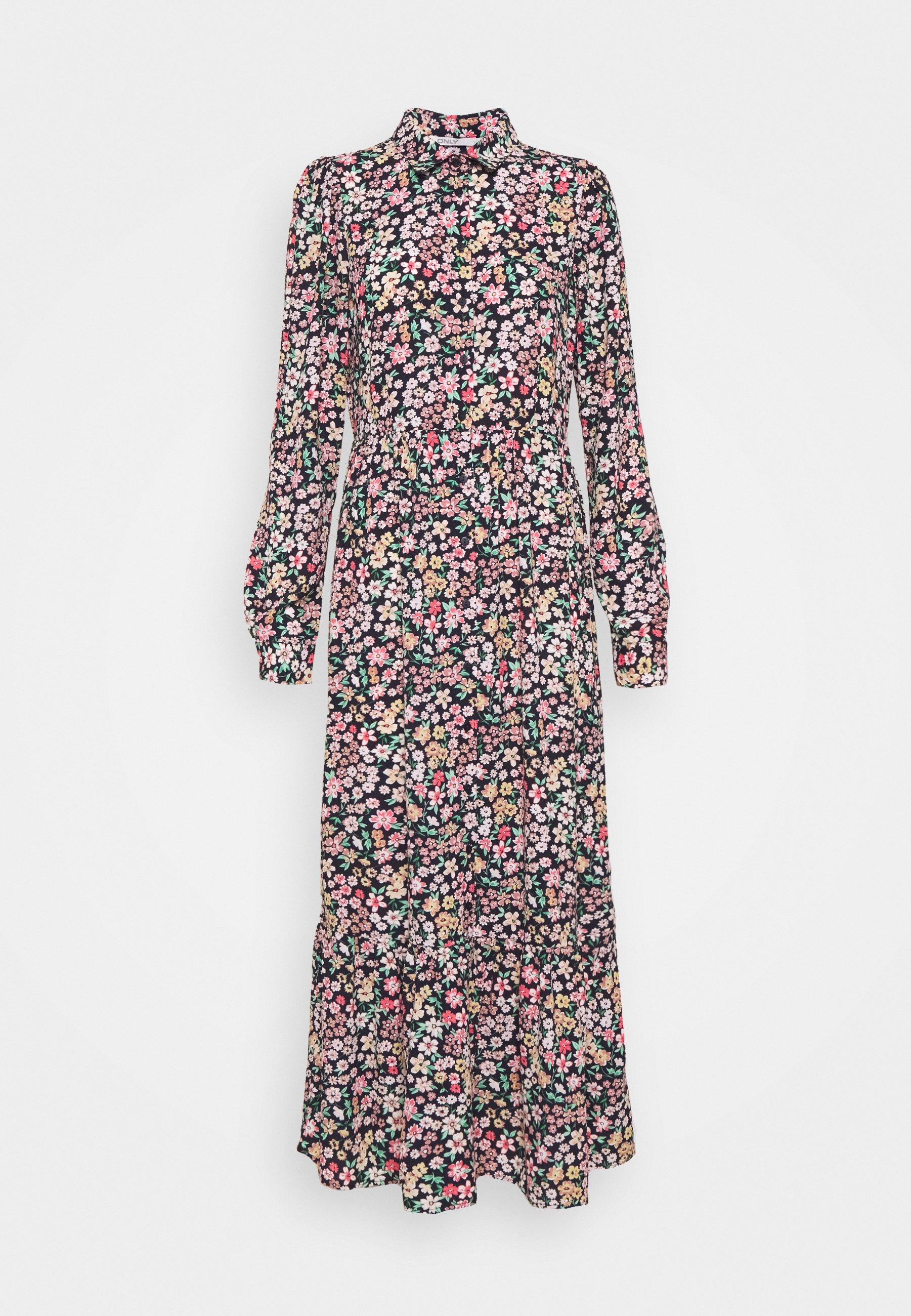 Women ONLTAMARA MIDI DRESS - Shirt dress