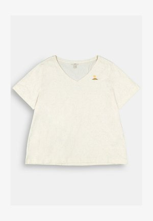 CURVY  - Print T-shirt - sand