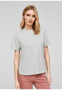 s.Oliver - T-shirt imprimé - gray - 0