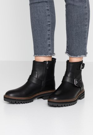 LONDON SQUARE - Cowboy/biker ankle boot - black