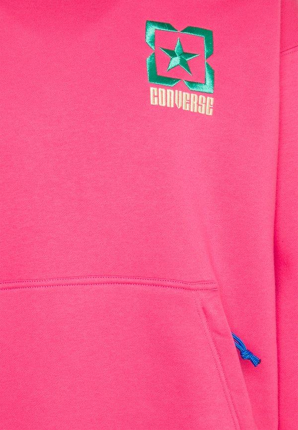 Converse TERRAIN HOODIE - Bluza - bold pink/rÓżowy Odzież Męska ULHI
