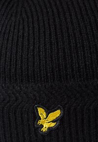Lyle & Scott - RACKED BEANIE - Beanie - true black - 5