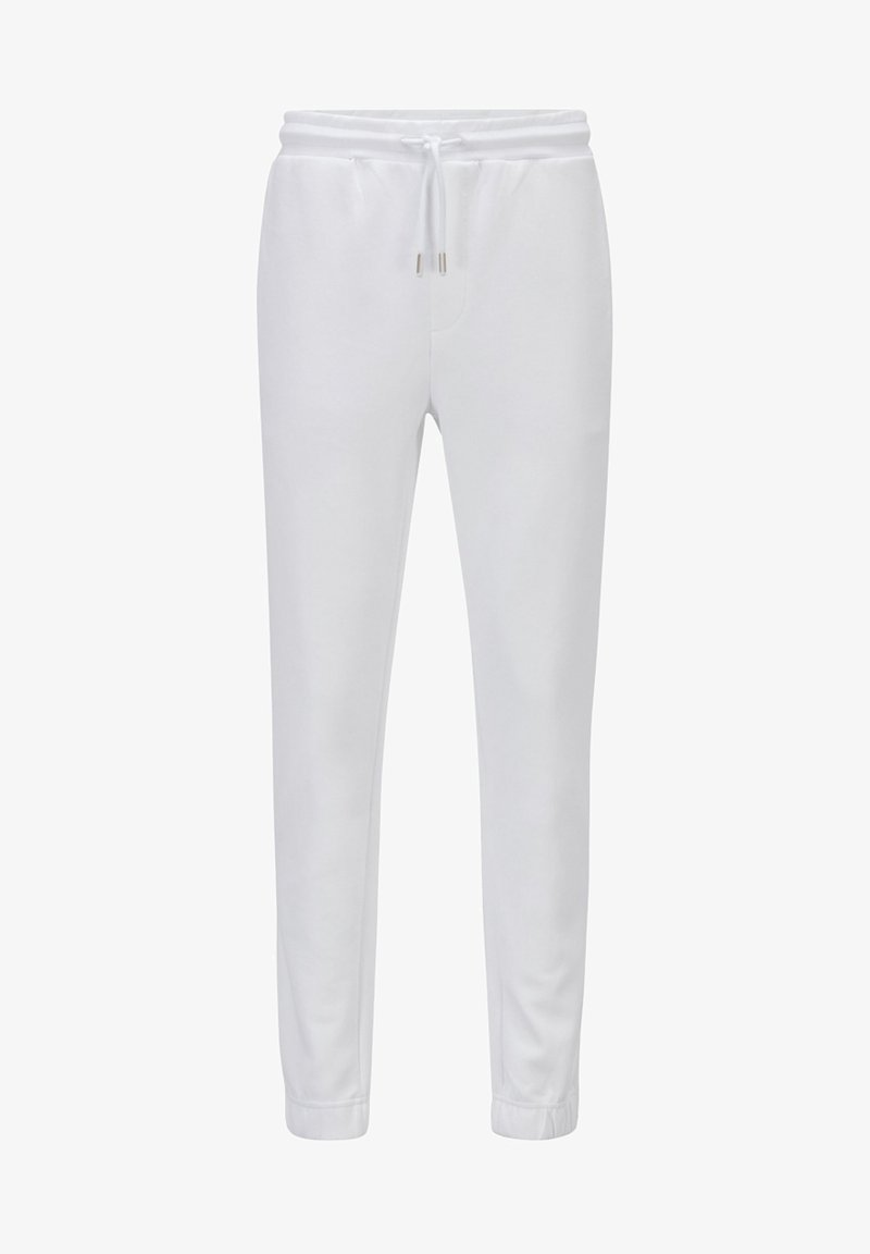 BOSS ATHLEISURE - Tracksuit bottoms - white
