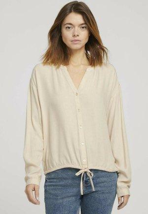 Bluser - cozy beige melange
