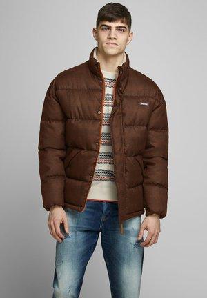 JORFRANK PUFFER JACKET - Winter jacket - burnt ochre