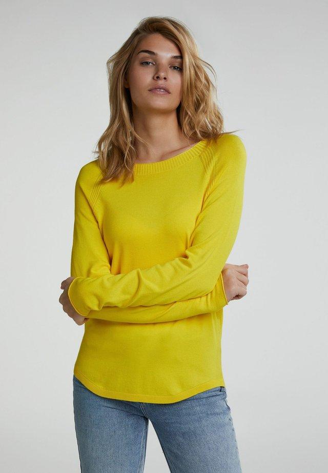 Jumper - vibrant yellow