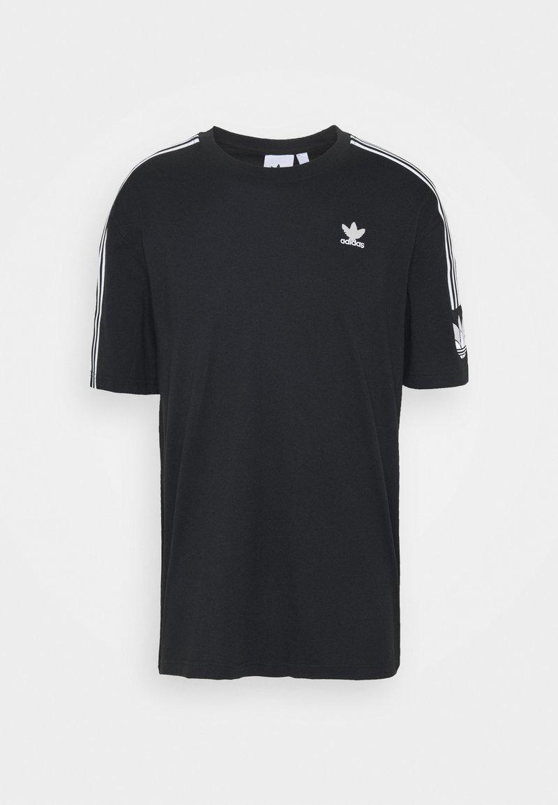 adidas Originals - UNISEX - Print T-shirt - black/white