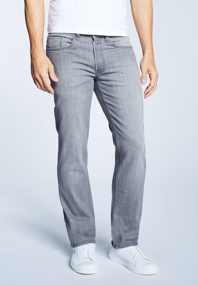 Straight leg jeans - grey wash