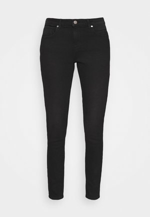 ONLDAISY LIFE PUSH UP - Jeans Skinny Fit - black denim