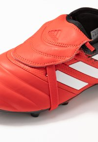 adidas Performance - COPA GLORO 20.2 FG - Moulded stud football boots - active red/footwear white/core black - 6