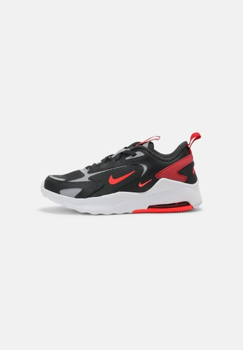 AIR MAX BOLT UNISEX - Sneakers basse - dark smoke grey/bright crimson/university red/light smoke grey