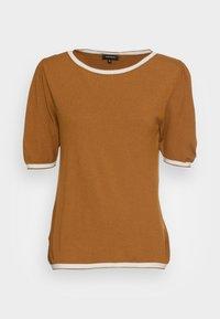 Print T-shirt - brass