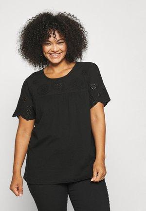 DARLINE BLOUSE - Camiseta estampada - black