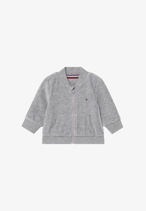 BABY ZIP UP - veste en sweat zippée - grey
