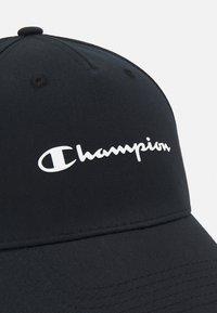 Champion - BASEBALL UNISEX - Cap - black - 3