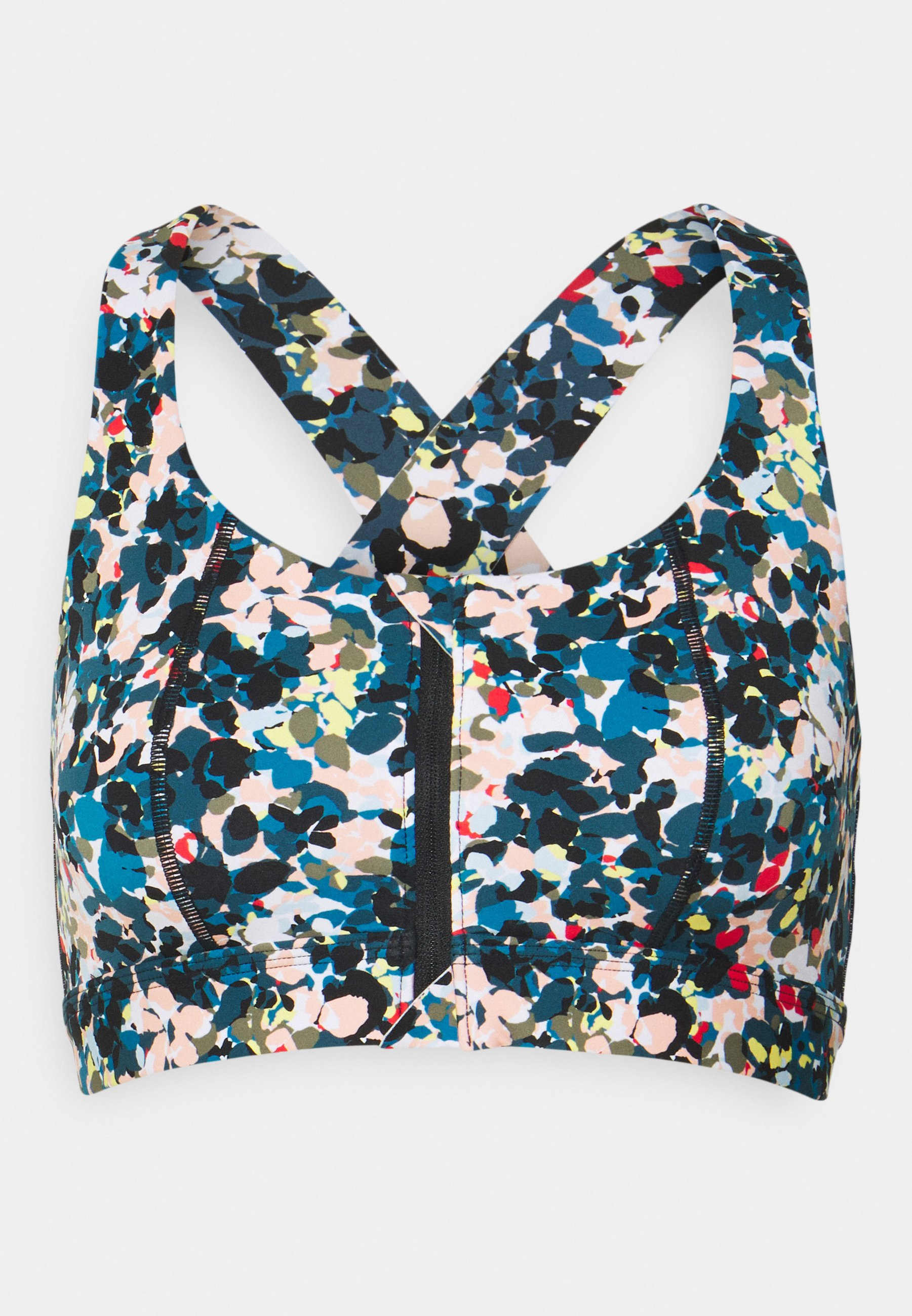 Women CIRCUIT ZIP UP BRA - Medium support sports bra
