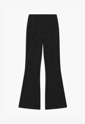 METTE GLITTER TRUMPET - Kalhoty - black