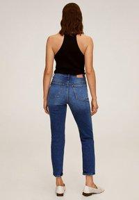 Mango - Slim fit jeans - dunkelblau - 2