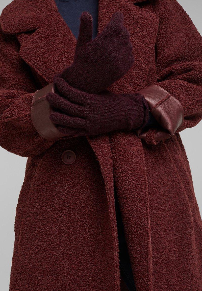 edc by Esprit - Gloves - aubergine