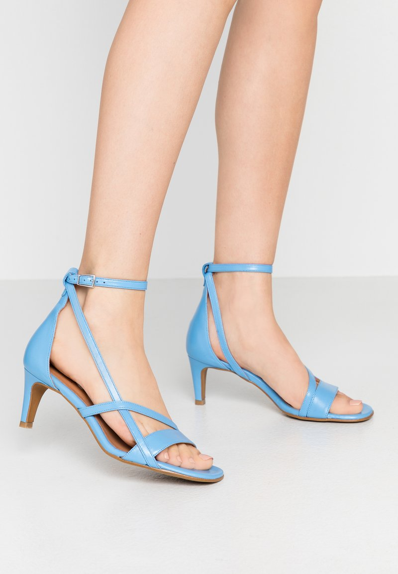 Shoe The Bear - ROSANNA STRAP - Sandals - blue