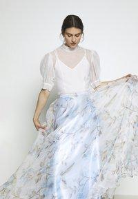 Mascara - Maxi skirt - baby blue - 3