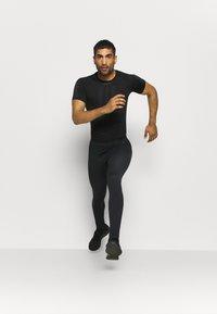 ODLO - PERFORMANCE WARM ECO BOTTOM LONG - Unterhose lang - black/new odlo graphite grey - 1