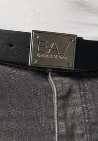 EA7 Emporio Armani - PLATE BELT UNISEX - Belt - grey - 1