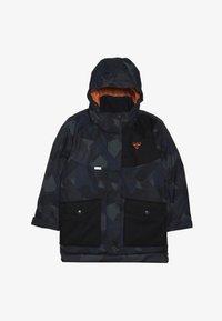 Hummel - HMLTRAVIS SKIJACKET - Snowboard jacket - dark navy/olive night - 3
