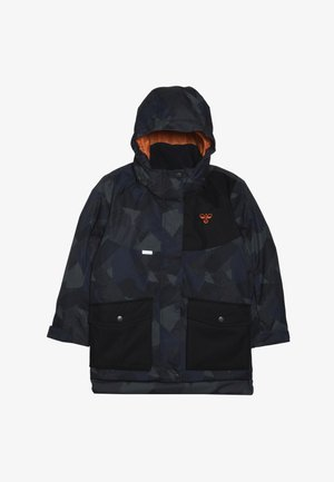 HMLTRAVIS SKIJACKET - Snowboard jacket - dark navy/olive night