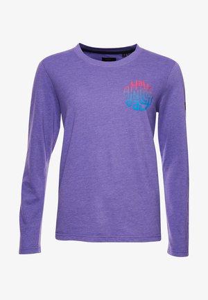 HERITAGE MOUNTAIN LONG SLEEVE - Long sleeved top - prism violet marl