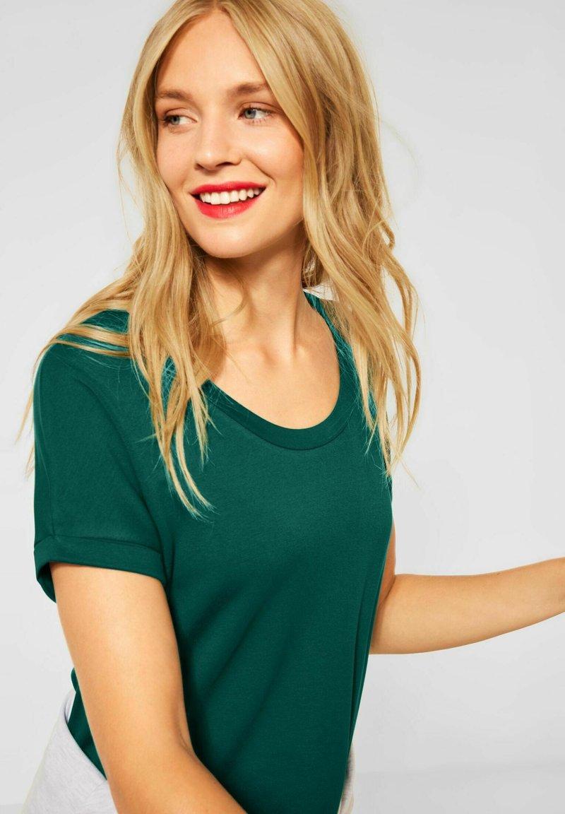 Street One - T-shirt basic - grün