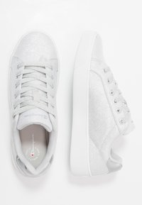 Champion - LOW CUT SHOE ALEX GLITTER - Sports shoes - offwhite - 1