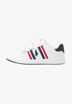 OAKLYN - Sneakers basse - white/navy/red