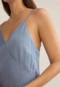 OYSHO - CAMISOLE - Nightie - light blue - 2