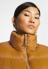 Part Two - EDLA - Down coat - bronze brown - 3