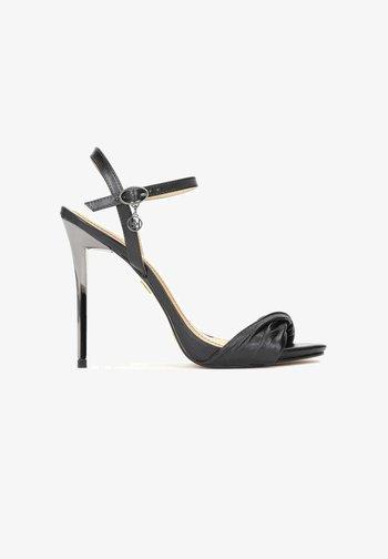 TERRY - High heeled sandals - black
